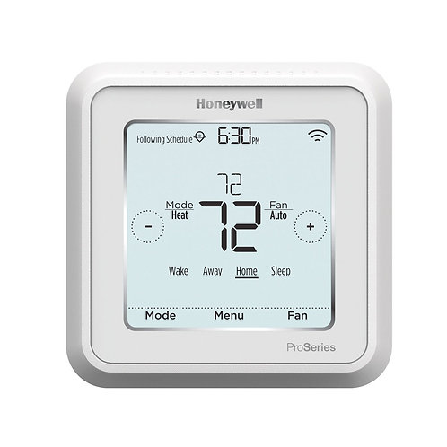 Honeywell TH6220WF2006/U - Lyric T6 Pro Wi-Fi Programmable Thermostat, 2 Heat/1