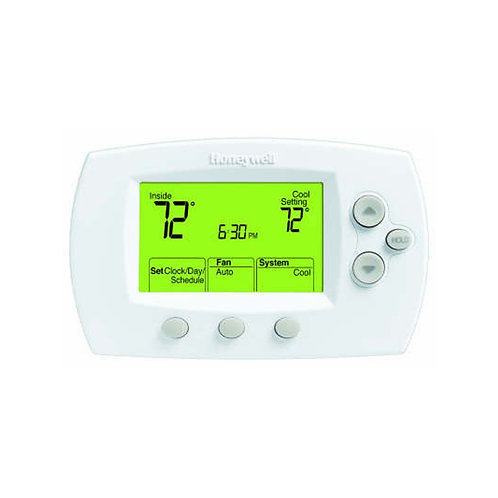 Honeywell TH6220D1028/U - FocusPRO® 6000 5-1-1 Programmable Thermostat, 2 Heat/2
