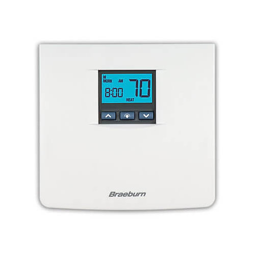 Braeburn 7 Day, 5-2 Day Programmable Thermostat (2 Heat/2 Cool)