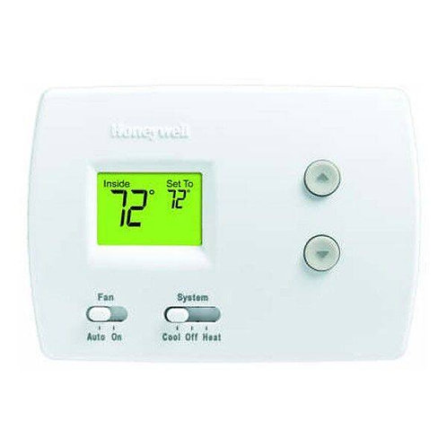 Honeywell TH3110D1008 - PRO 3000 Digital Non-Programmable Thermostat 1H/1C
