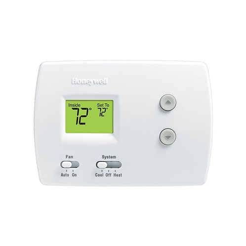 Honeywell TH3210D1004 - PRO 3000 Digital Non-Programmable Thermostat 2H/1C