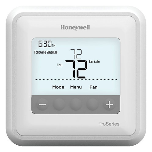 Honeywell TH4210U2002/U - T4 Pro Programmable Thermostat With Stages, 2 H/1 C He
