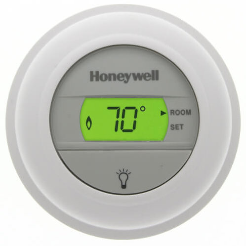 Honeywell T8775A1009 Round Non-Programmable, Heat Only, Digital Thermostat