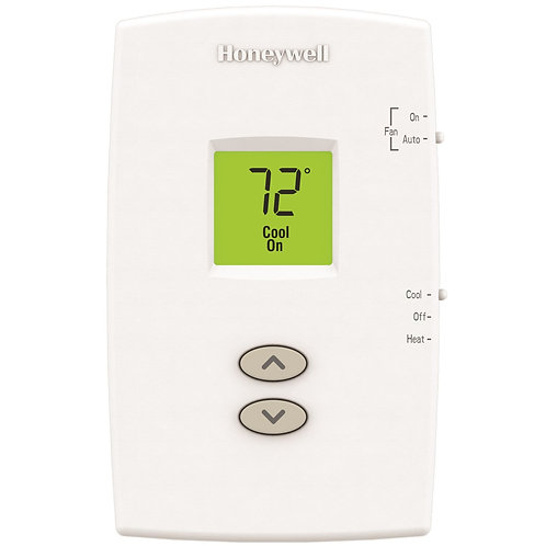 Honeywell TH1110DV1009 - PRO 1000 Vertical Non-Programmable Digital Thermostat 1