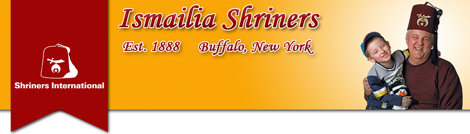 Ismaia Shriners Header Image for website | Shiners Intenational | Buffalo & WNY