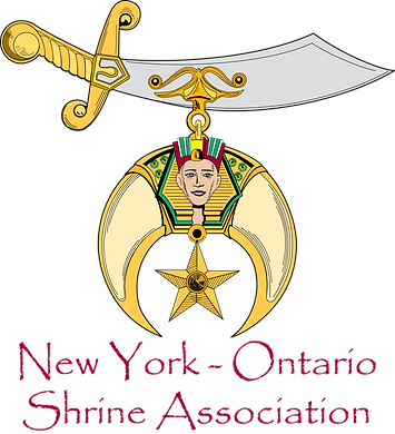 New York - Ontario Shrine Association Logo - click to go to the website for NYOSA.org