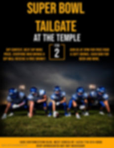 Copy of Tailgate  the Temple - Made with