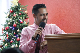 Pastor Nigel ministering