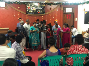Christmas event -Song in gujarati