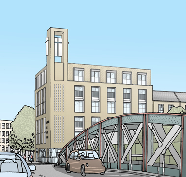 New Building sketch