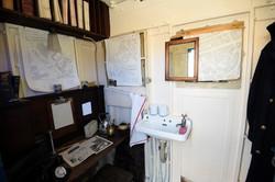 Desk and basin