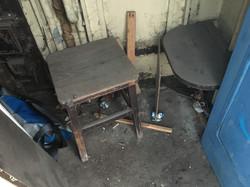 Stool and fixed / folding seat