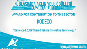 KODECO is Awarded for Contribution to the Sector