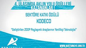KODECO'ya Sektöre Katkı Ödülü