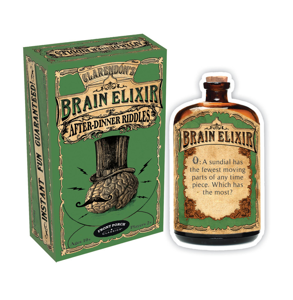 Brain Elixir Box and Card