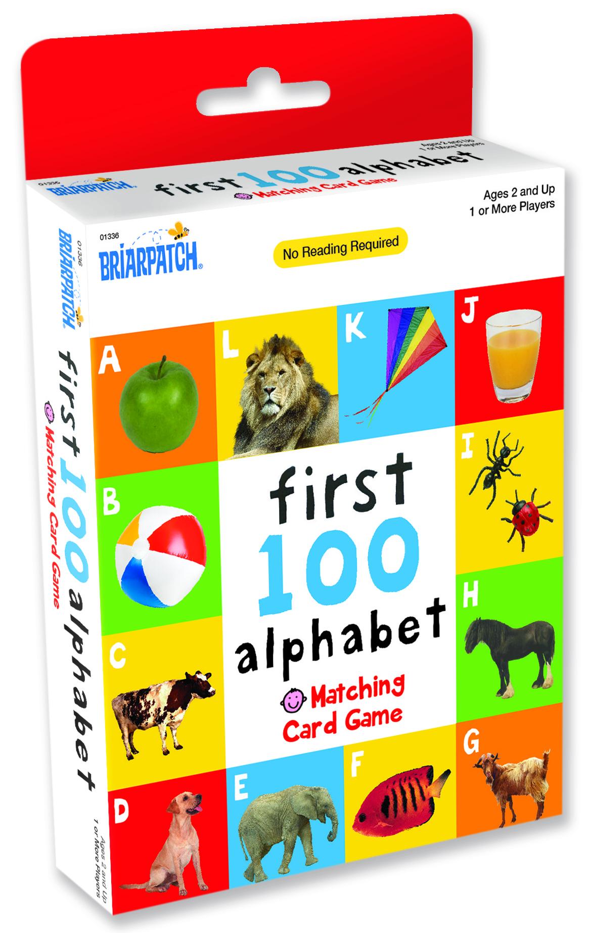 First 100 Alphabet