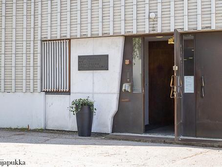 vierailulla Alvar Aalto-museossa