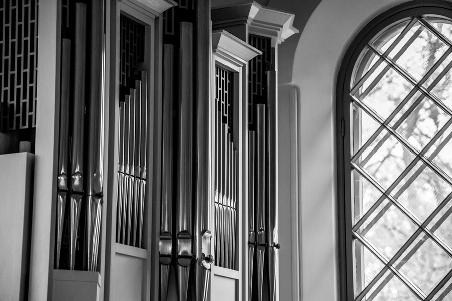 urut Hietaniemen vanhassa kappelissa