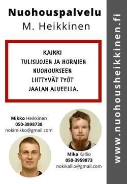 Nuohouspalvelu M. Heikkinen
