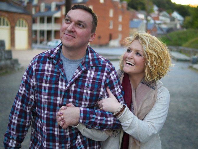 JD & Mike | Engagement Photos | Harper's Ferry, WV