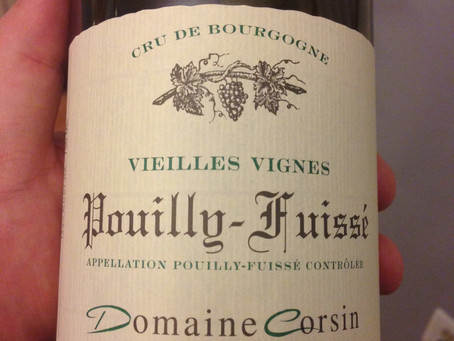 2012 Domaine Corsin Pouilly – Fuuissé