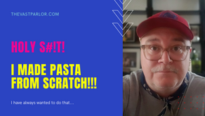 HOLY S#!T, I Made Pasta From Scratch!!!