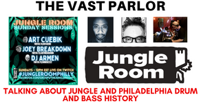 Talking Drum and Bass with Art Cuebik, Joey Breakdown, and DJ Armen from Philadelphia's Jungle Room