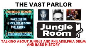 Talking Drum and Bass with Art Cuebik, Joey Breakdown, and DJ Armen from Philadelphia's Jungle Room
