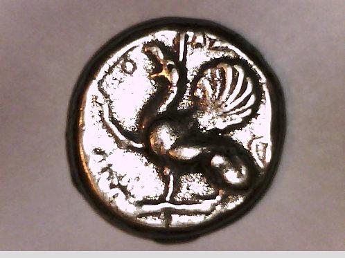 Thrace, Abdera, Tetradrachm, Griffin or Gryphon
