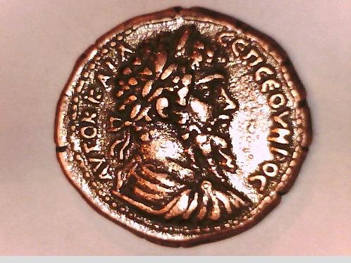 SEPTIMIUS SEVEROUS, CYPRUS, KOINON, METEORITE COIN