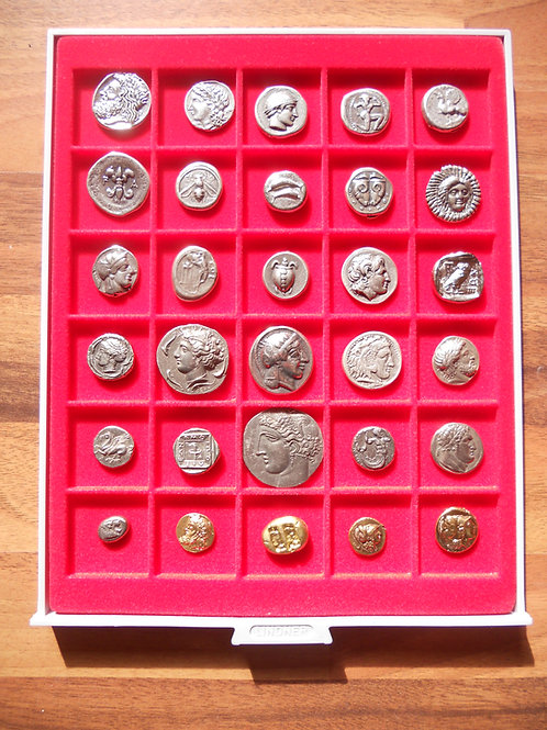 Collection of 30 Assorted Coins