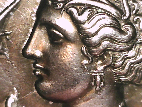 Greek Colonies, Sicily, Syracuse Dekadrachm Coin