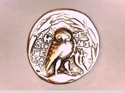 Attica Athens Tetradrachm Athena / Owl Cornucopia