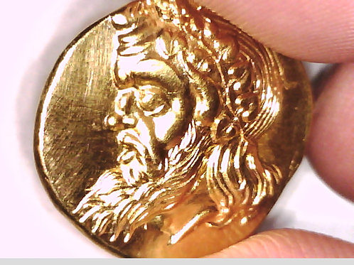 Greece, Bosporus Pantikapaion 24K Gold plated coin