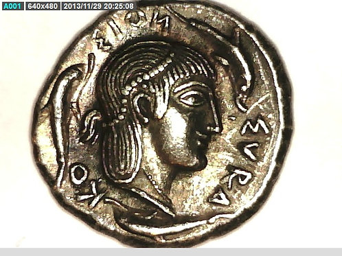 Greek Colonies, Sicily, Syracuse, Didrachm Coin