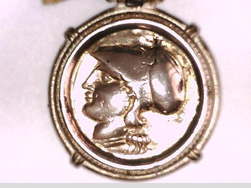Silver Jewelry Pendant Athena / Winged Nike