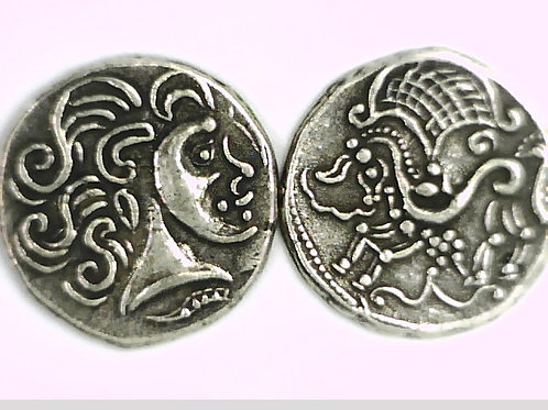 Britain, Anglo-Gallic, Celtic, Gaul, Stater Coin
