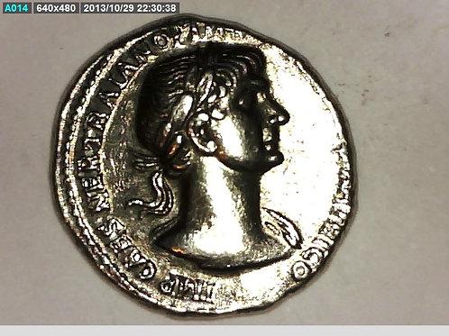 Emperor Trajan, Silver Denarius Providentia Coin