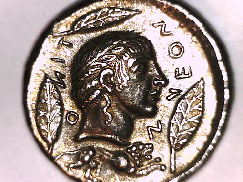 Greek Colonies, Sicily, Leoniti, Tetradrachm Coin