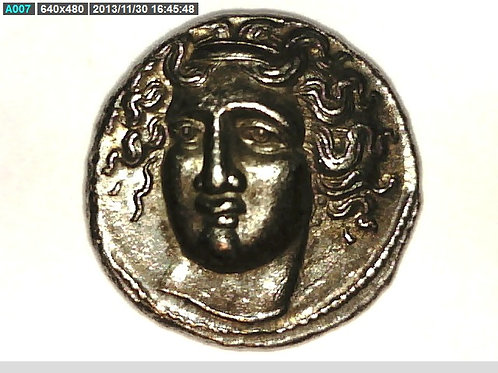 Greece Macedonia Thessaly Larissa Hemidrachm Coin