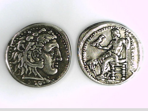 Macedon, Alexander The Great, Tetradrachm, Memphis