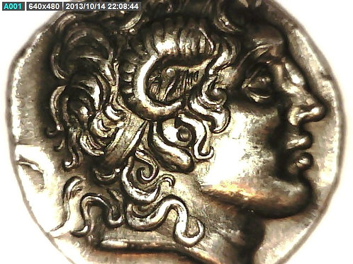 Greece, Macedonia King Lysimachos Tetradrachm Coin