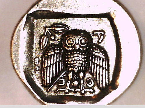 Attica, Athens, Dekadrachm, Athena/ Owl, HUGE Coin