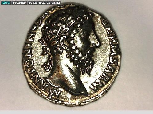 Roman Emperor, Elephant Denarius Coin