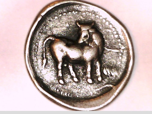 Crete, Gortyna, Europa seated on tree / Bull