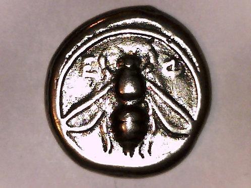 Ionia Ephesos Tetradrachm Coin Bee / Stag