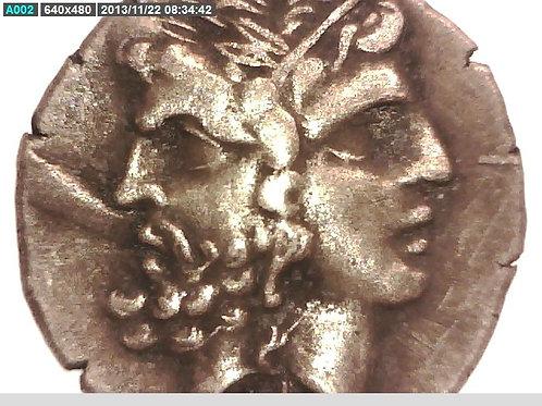 Asia Minor, Troas, Tenedos Tetradrachm Coin.