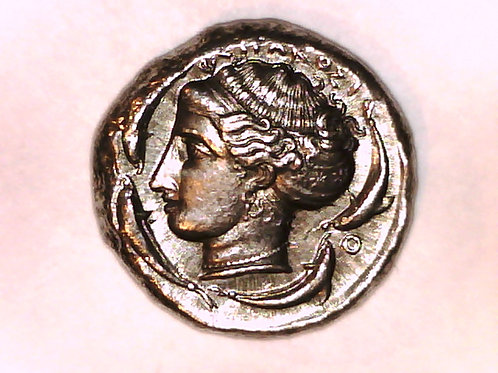 Greek Colonies Italy Sicily Syracuse Tetradrachm