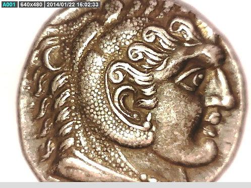 Macedon, Alexander The Great, Tetradrachm, Ake