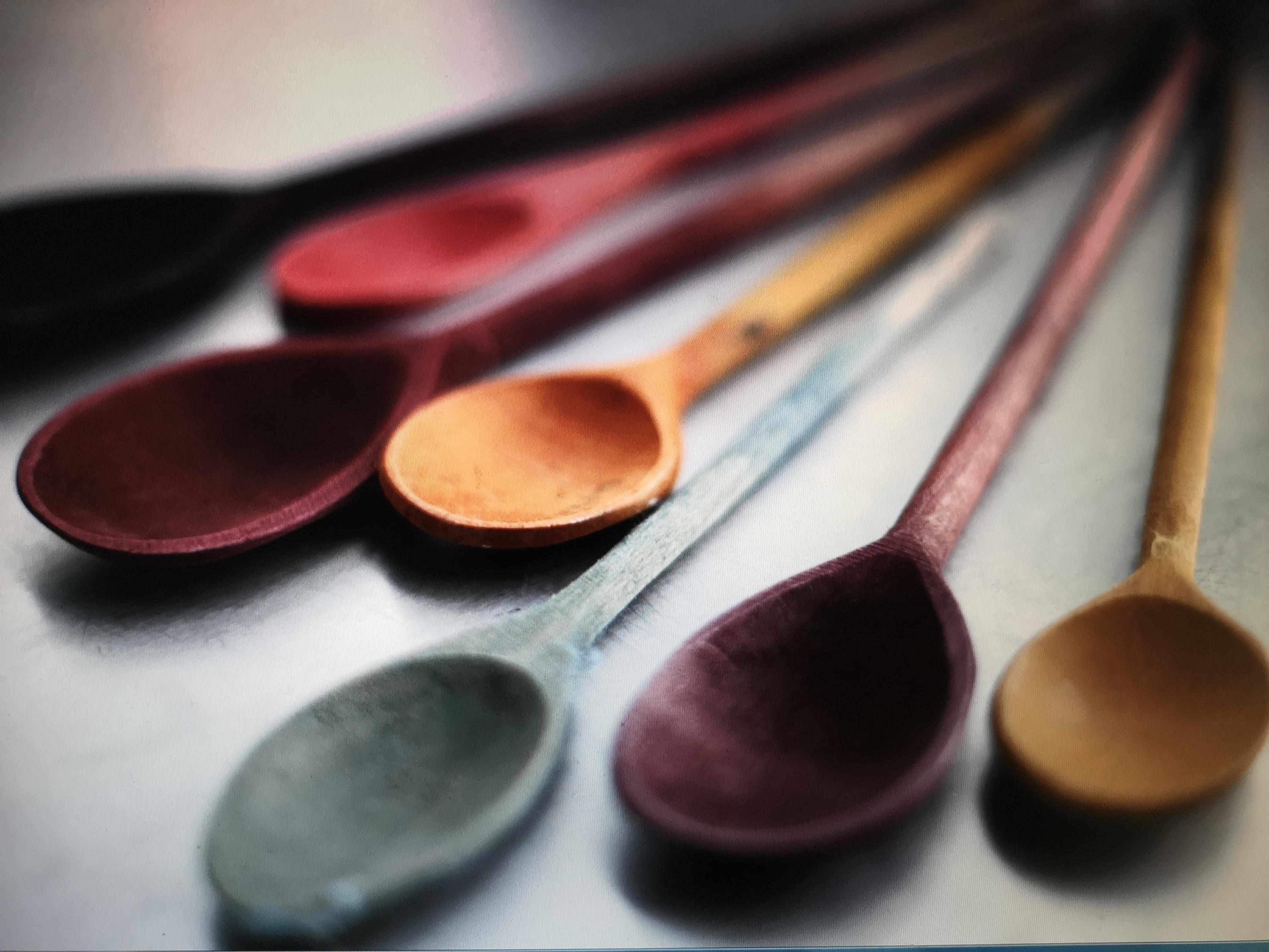 Altes Handwerk mit Naturfarben